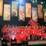 Unified bei den Special Olympics in Hof